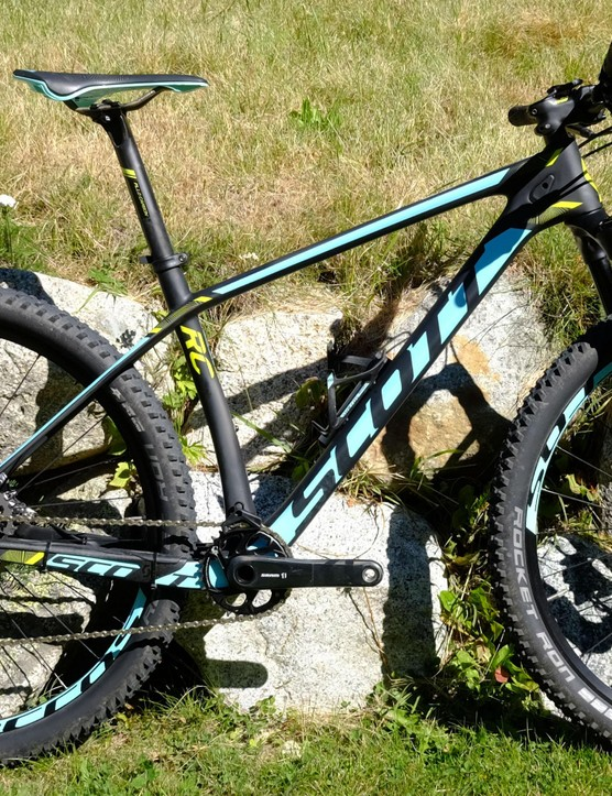 Designed for the highest level of cross-country racing, the Scale RC hardtail from Scott