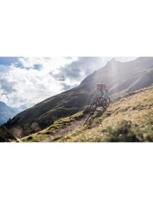 We put the Scott Contessa Spark 710 Plus through its paces in the Swiss Alps