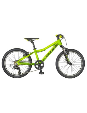 The Scott Scale Junior packs in the features from the adult bike range into a junior package