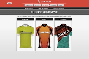 If you're not sure where to start with a design, Jakroo can help steer you with basic categories