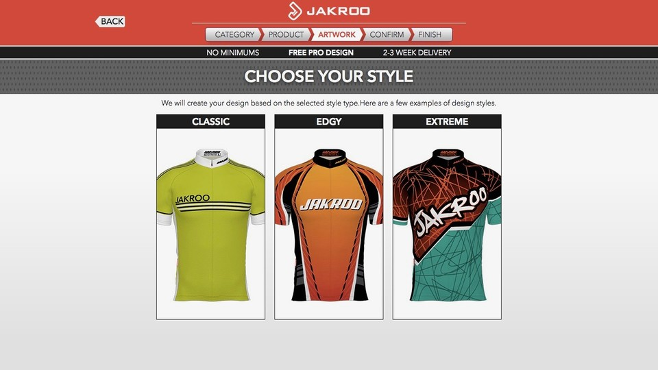 15c1e2a6f38 If you're not sure where to start with a design, Jakroo can help