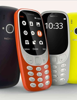 Nokia's new 3310 is considerably smaller and lighter than the original