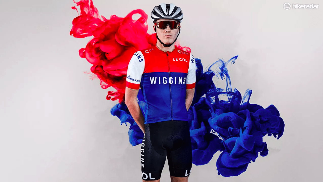 The red, white and blue of the British flag result in a bold design