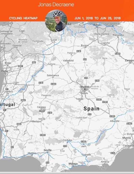 A different kind of Vuelta a España