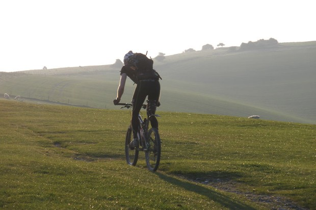 South Downs Double record in progress