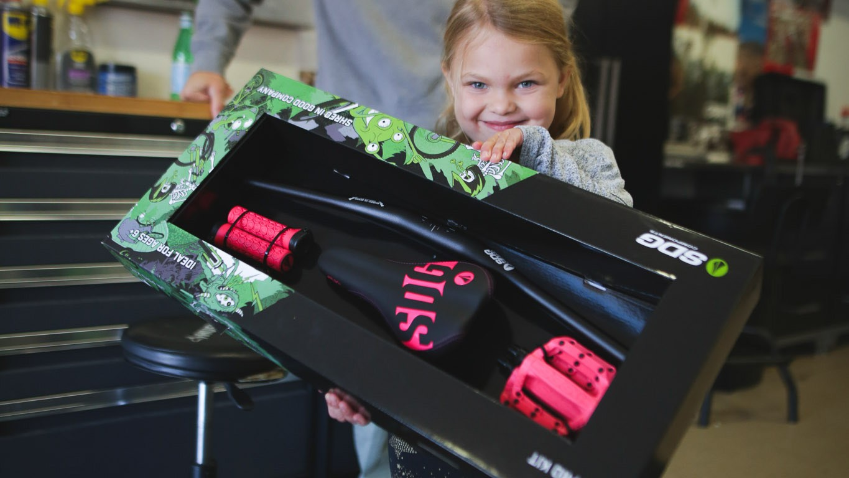 A super-cool present that's practical (and cheaper than a bike)