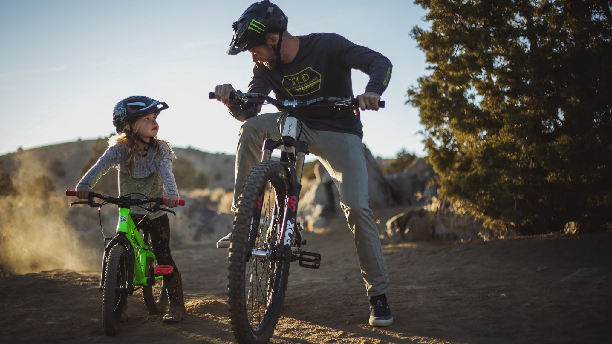 As ridden by Ayla Zink, pro-freerider Cam Zink's daughter