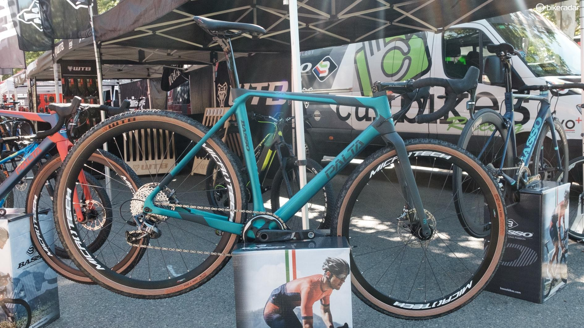 Basso launched a new gravel bike at the event