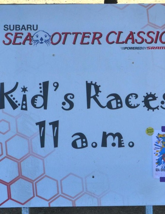 Racers, spectators and kids; there's something for everyone at Sea Otter