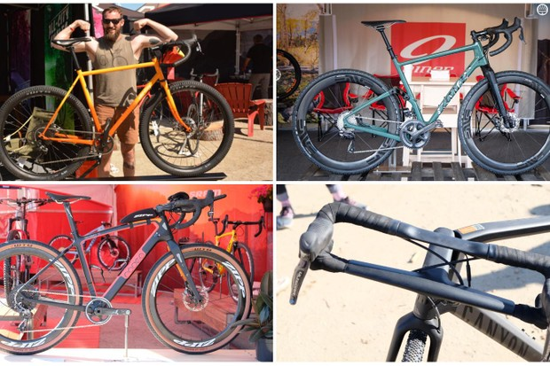 Here's a look at the new gravel bikes and products on display at Sea Otter 2018