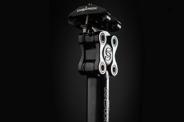 Cane Creek's eeSilk seatpost is designed with gravel and rough roads in mind