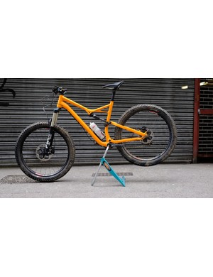 A bike stand that doesn't take over the house - hand! Or should we say Andy-stand? (groan)