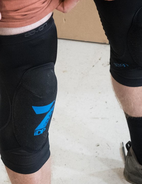 7 IDP Transition are, without doubt, his favourite knee pads