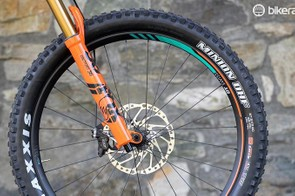 Maxxis's Minion DHF Plus tyres are probably the closest thing we have to a sorted plus tyre