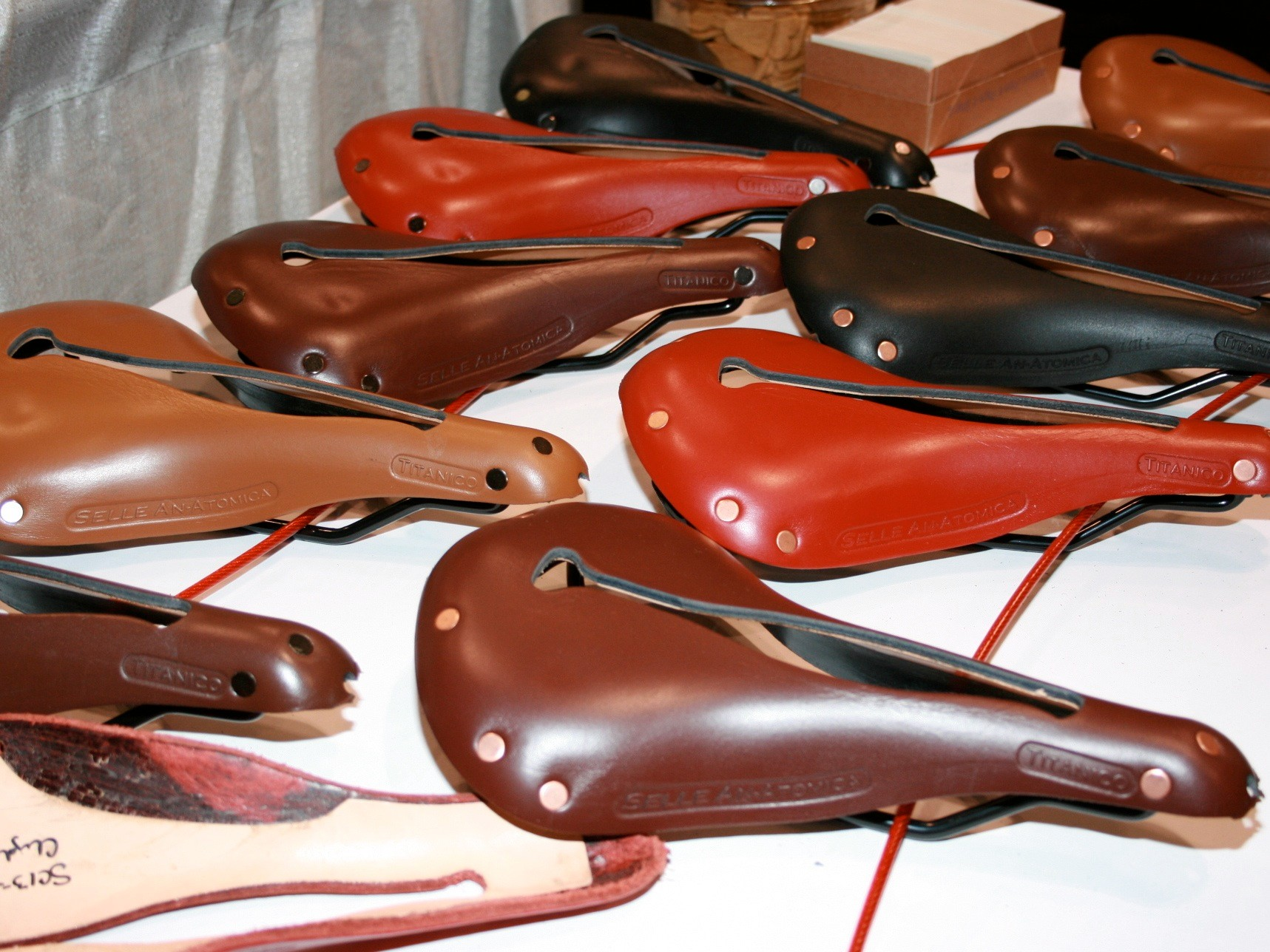 Selle Unatomica leather saddles - made in Wisconsin.