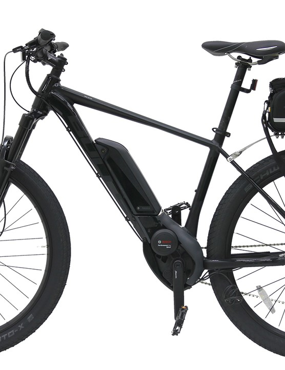 Bulls spent nine months working with the LAPD to build 20 custom Sentinel e-bikes