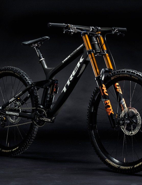 Trek claims that when it back-to-back tested the 29er and 650b versions of the new Session, the 29er was considerably faster