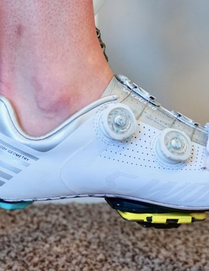When attempting to set fore/aft or height, pay attention to how you pedal - heel up, heel down, or somewhere in between - this affects measurements