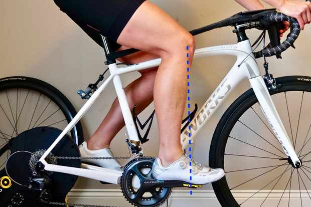 Determining your bike seat height should be an active process
