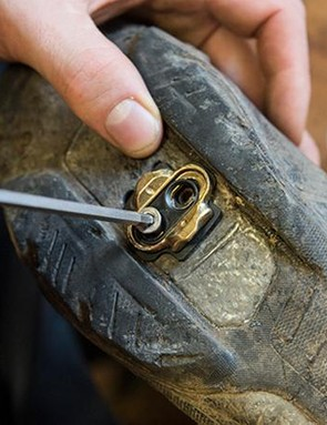 3. Secure the cleat in place