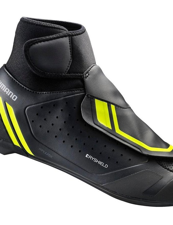 Winter roadies, take a look – the RW5 shoe has a Dryshield membrane