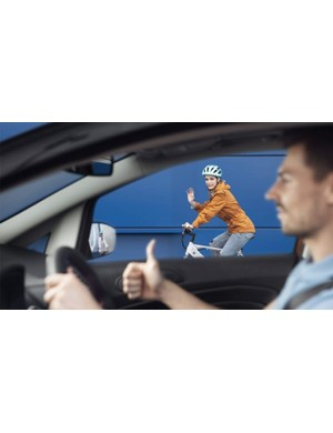 The videos are part of Ford's Share the Road campaign