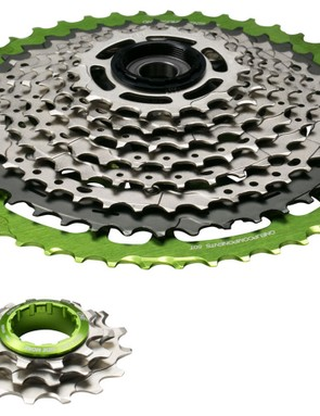 Sold as two seperate kits, you can now turn your XT 11-42t cassette in to a massive 10-50t