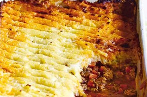 A low-fat version of the ever-popular shepherd's pie