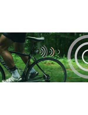 The iLumaware Shield TL helps alert cars with CAS technology to cyclists in the road — and, ideally, can help prevent accidents