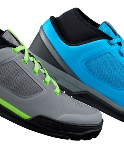 The GR700 flat pedal shoes come in two colourways, and are brand new for 2017