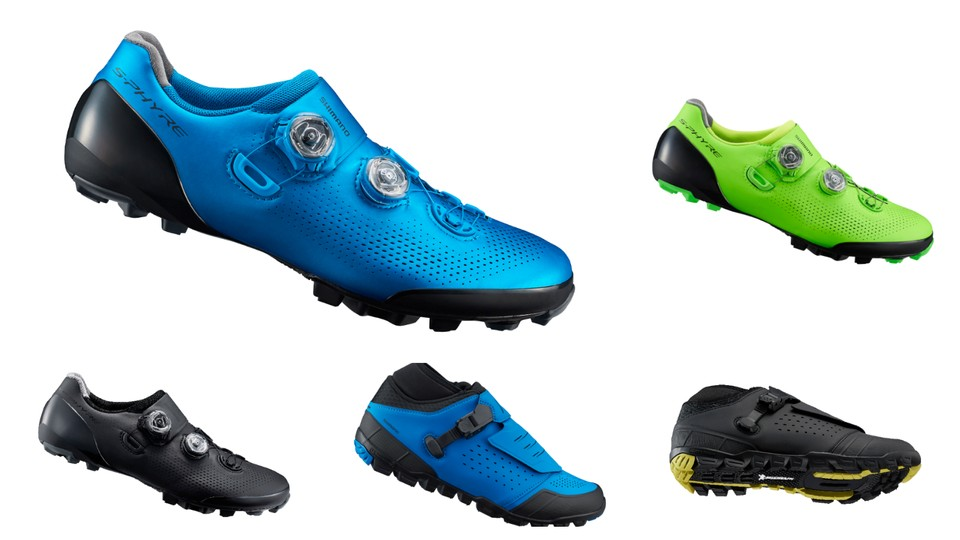 aea11ec6c Here are Shimano s latest S-Phyre XC9 XC and CX and ME7 enduro shoes