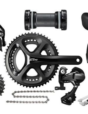 Shimano 105 is the workhorse group from Shimano's road range, now with 11 speeds