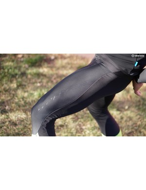 The S-Phyre Bib Long tights didn't fit me well — the legs are tight but the chamois sits a little low and baggy