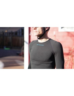 The Winter Baselayer is knit, stretchy and effective