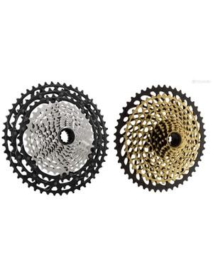 Shimano's widest range 12-speed cassette offers an 10-51t spread, while SRAM offers a 12-speed group with a 10-50t range