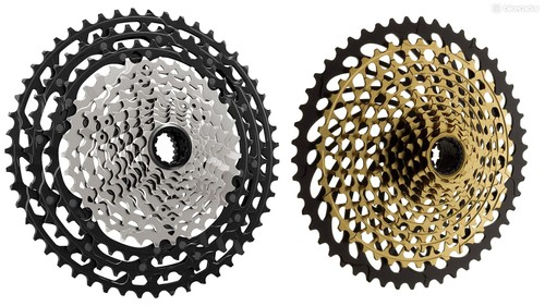 f37e853810a Shimano's widest range 12-speed cassette offers an 10-51t spread, while SRAM