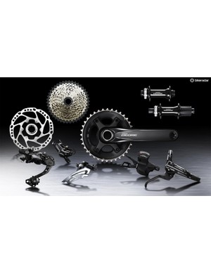 Shimano Deore is a 10-speed group that shares many of the features of the company's higher-end 11-speed groups