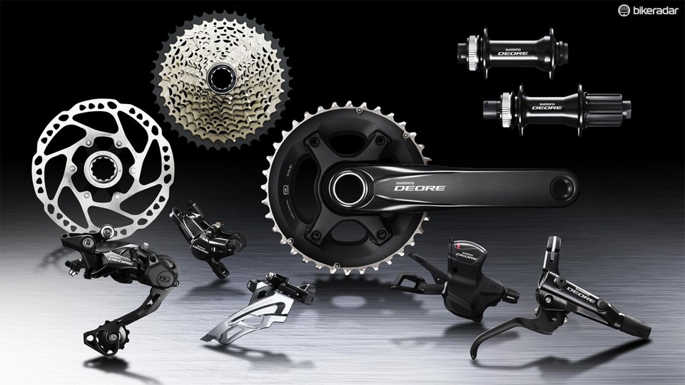 f936ac48bab Shimano Deore is a 10-speed group that shares many of the features of the