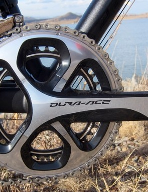 Shimano's Dura-Ace 9000 mechanical groupset offers clean, crisp, smooth shifting