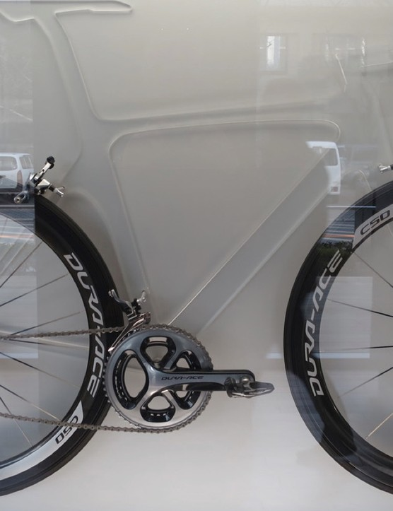 The latest Dura-Ace groupset in its complete form
