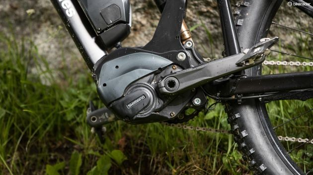 The e-bike village is presented by Shimano to showcase its new STEPS groupset