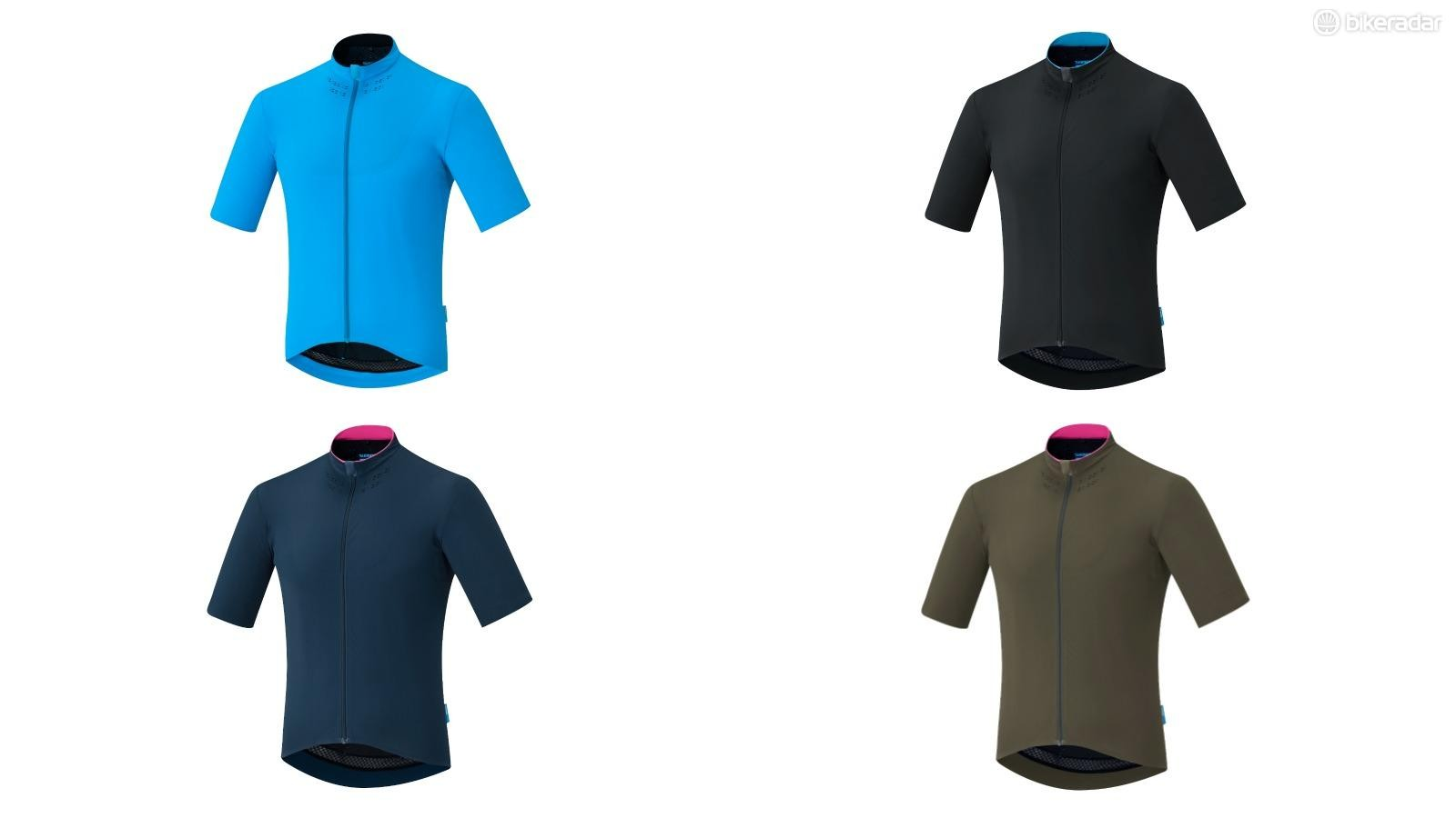 The new Evolve jersey is available in four different colours