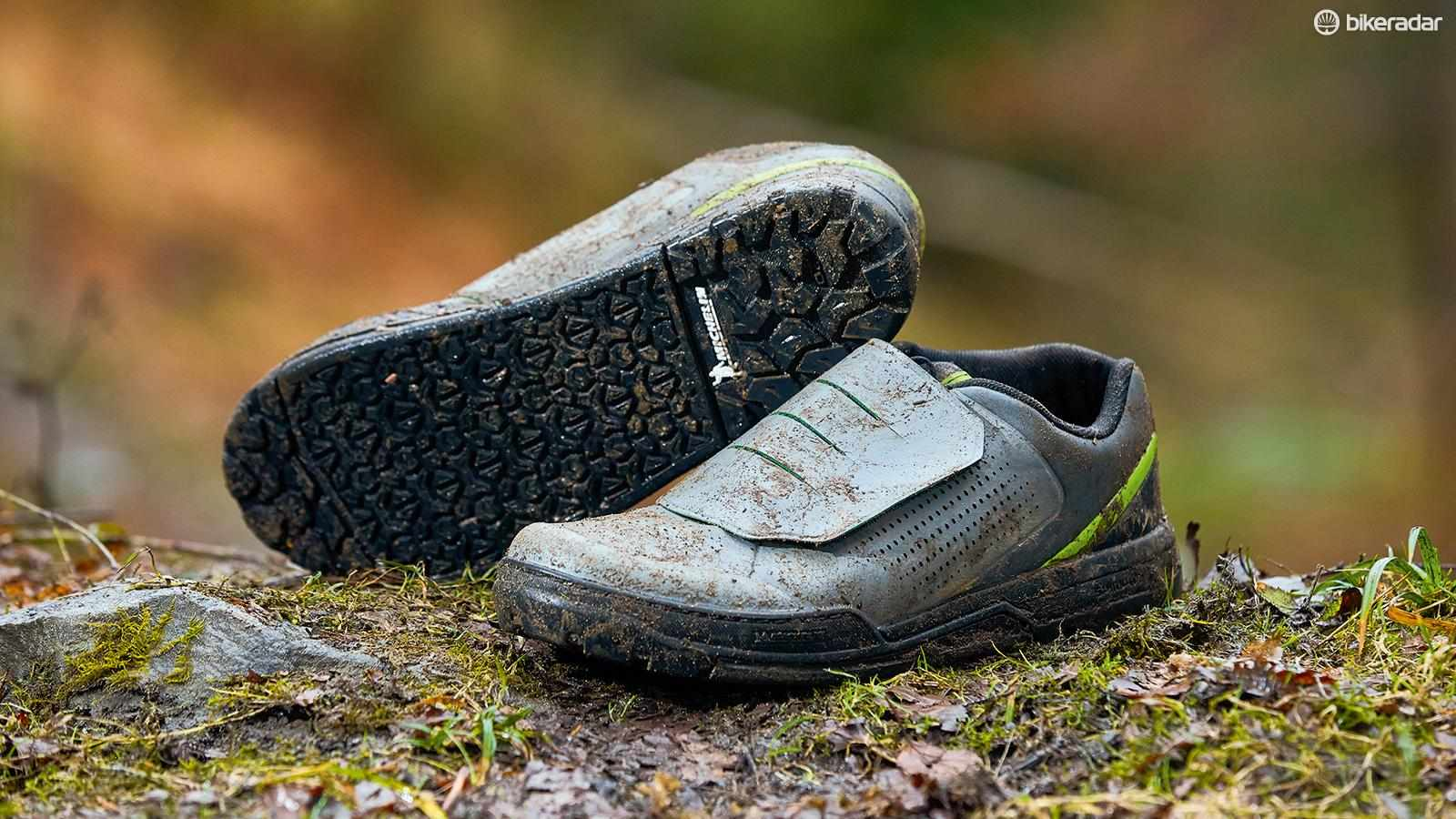Shimano's GR9 MTB shoes