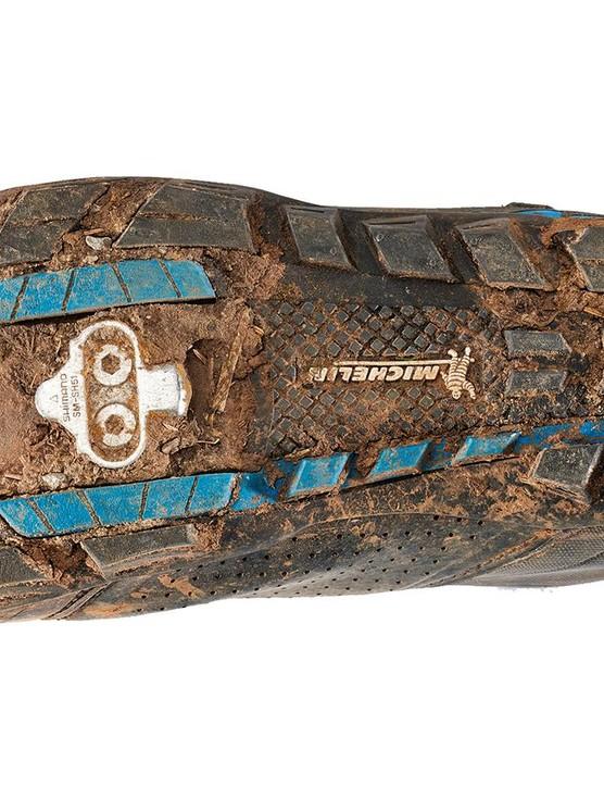 The sole's Michelin tread