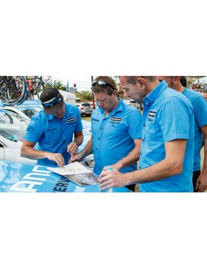 Plenty of planning for the stage takes place before getting behind the wheel, such as knowing where the key points sections are and making assumptions for where breaks will happen