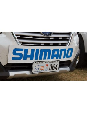 The Neutral Service cars are badged up for the race – number plates like these ensure you have open access to otherwise closed roads