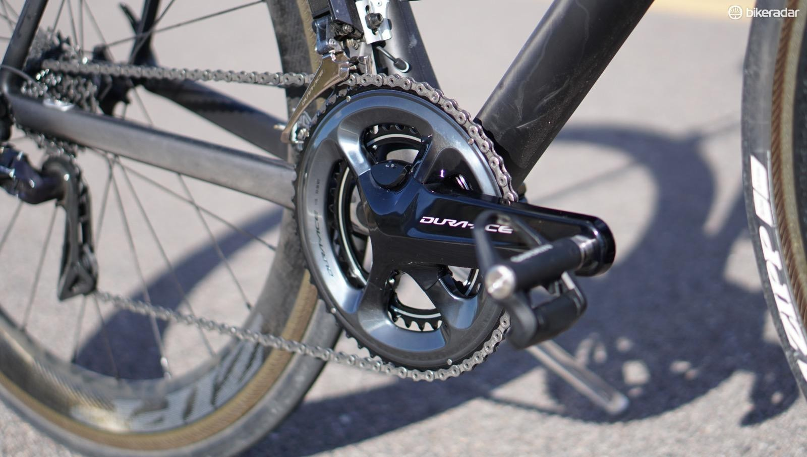 Shimano's Dura-Ace power meter adds 70g to a 9100 crankset