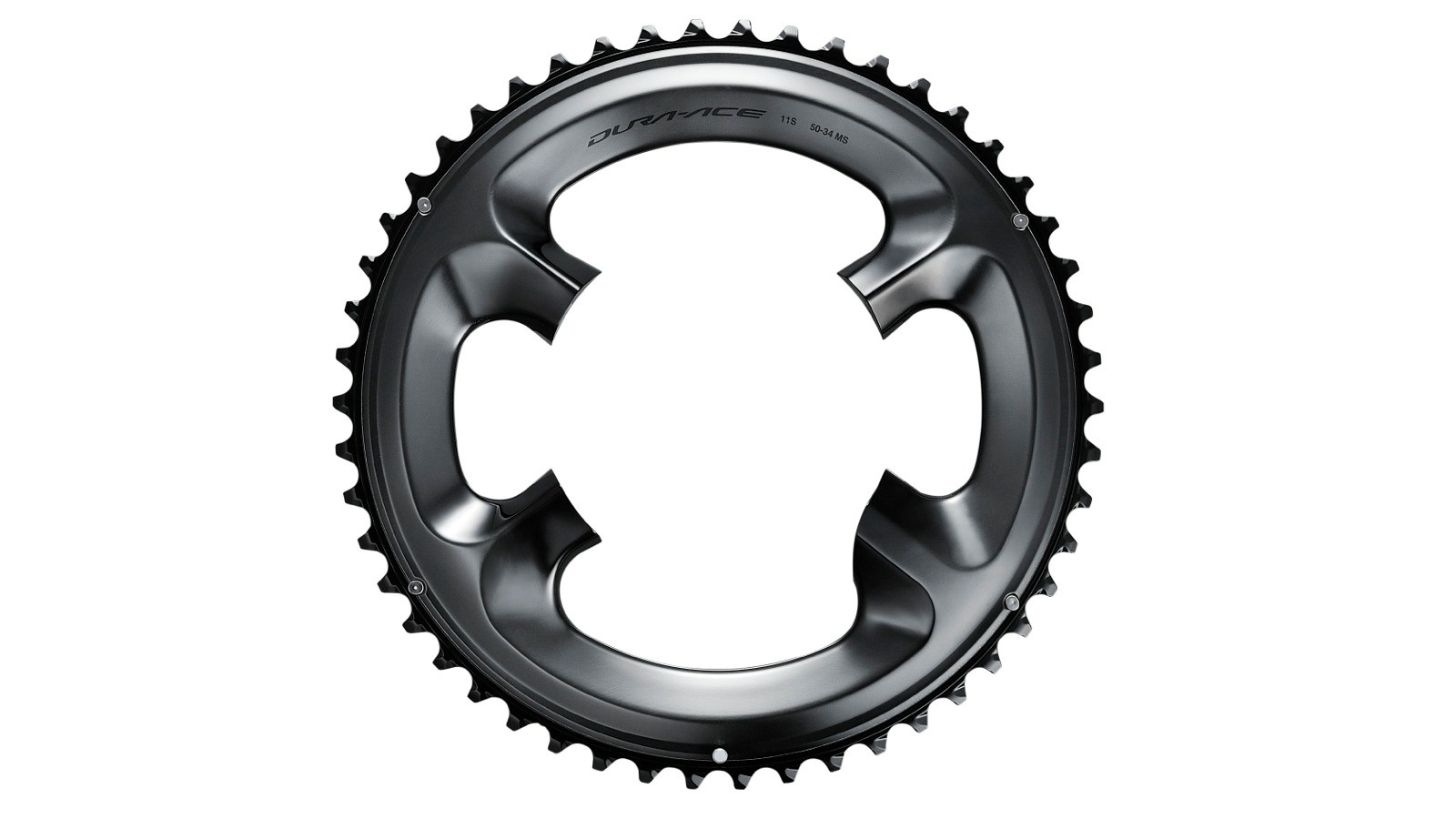 The new Shimano Dura-Ace R9100-P will have its own chainrings. As with 9000 cranks, there is no longer a 130 standard or 110 compact measurement, but a unique Shimano design that works for the full range of chainring sizes