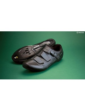 The Shimano RP5 shoes are versatile and ideal for wider feet