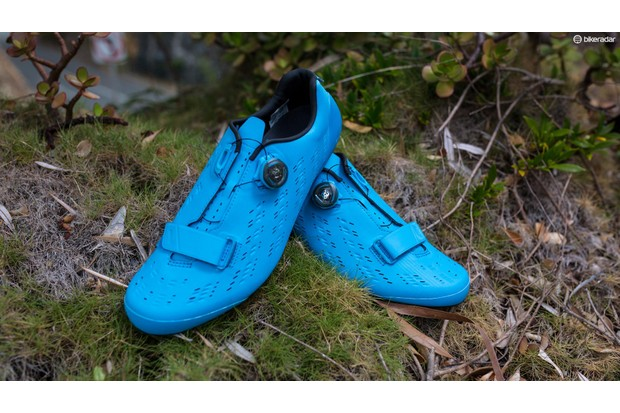 The Shimano RP9 shoes are endurance-focused and immensely comfortable